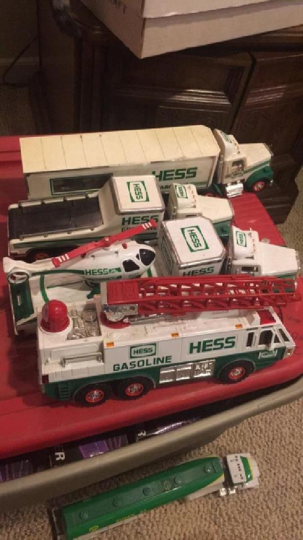 Lot of 4 Vintage Hess Trucks
