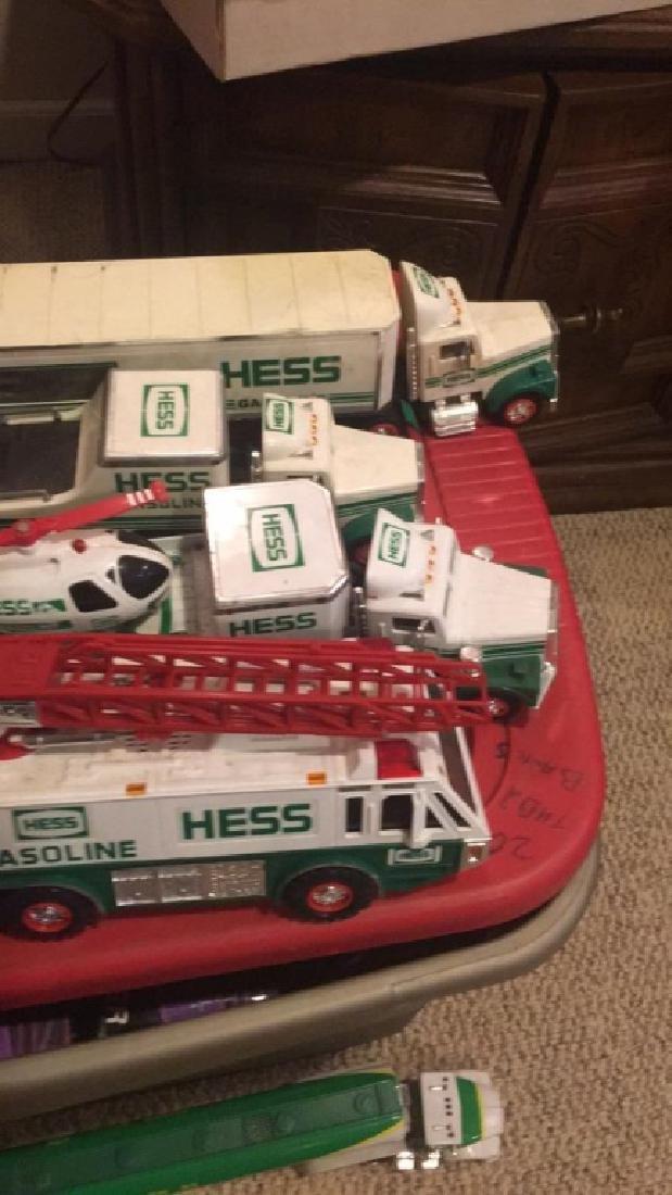 Lot of 4 Vintage Hess Trucks - 2