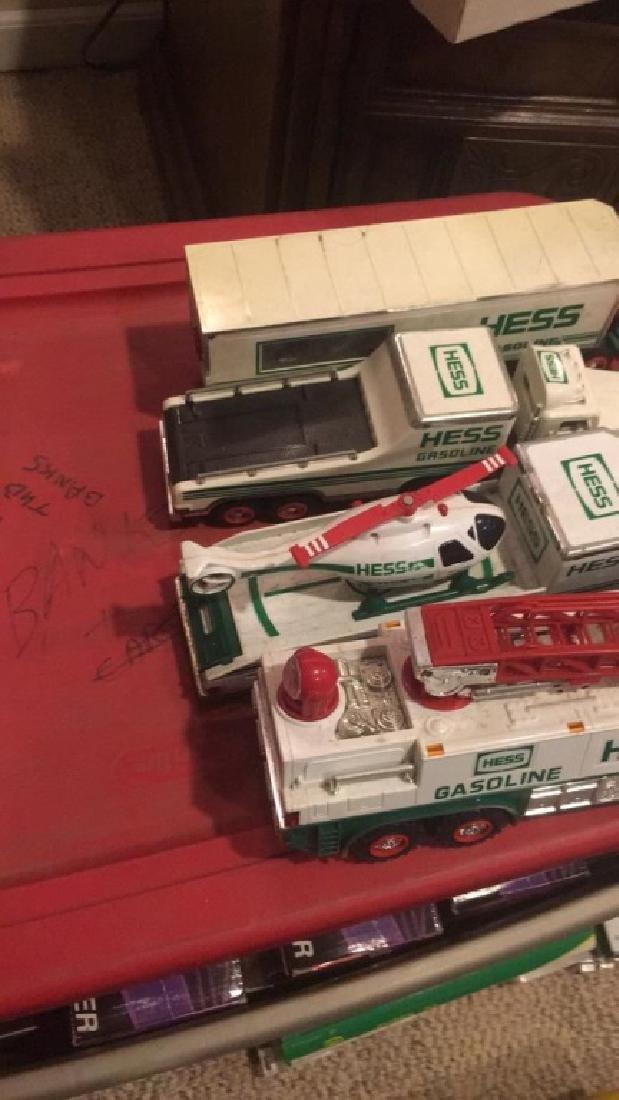 Lot of 4 Vintage Hess Trucks - 3