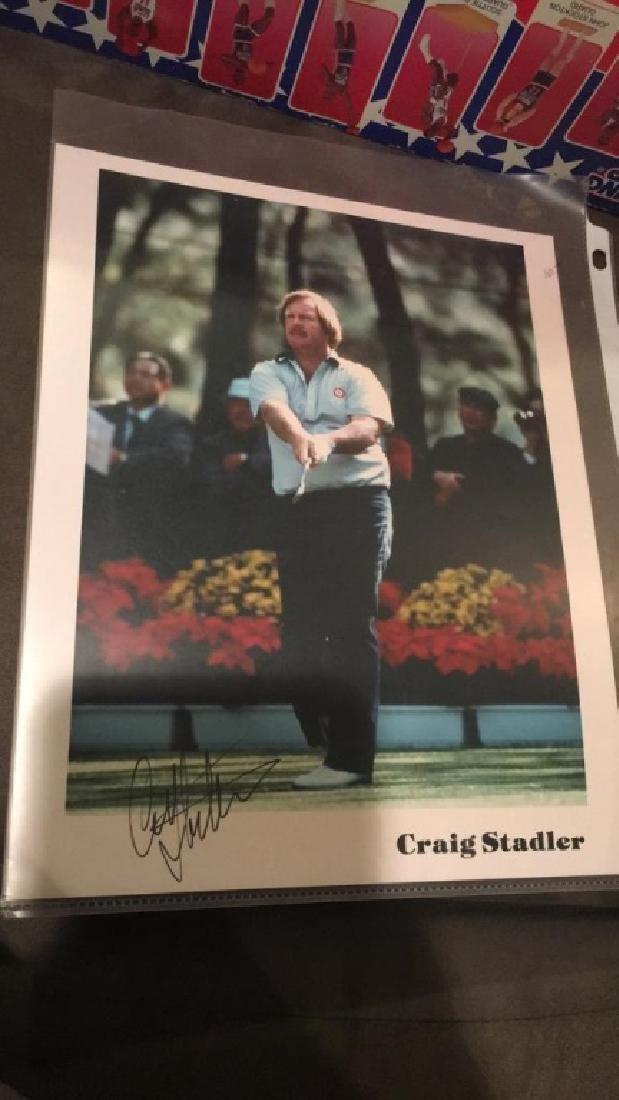 Craig Stadler Autograph 8x10