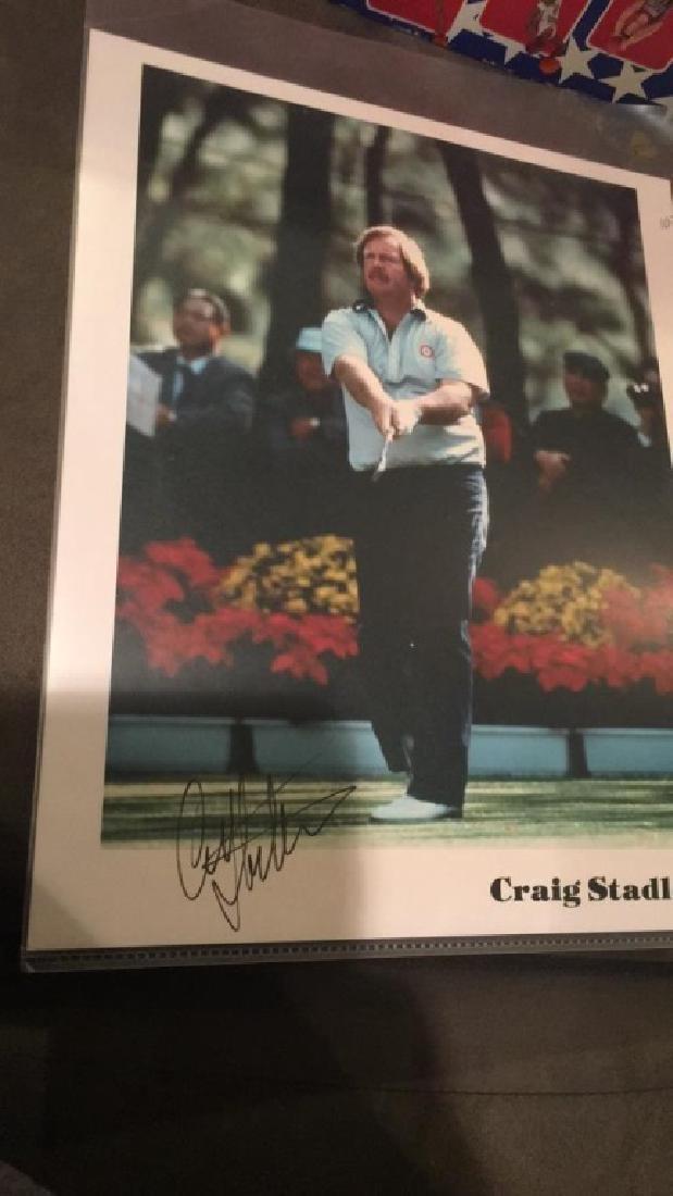 Craig Stadler Autograph 8x10 - 2