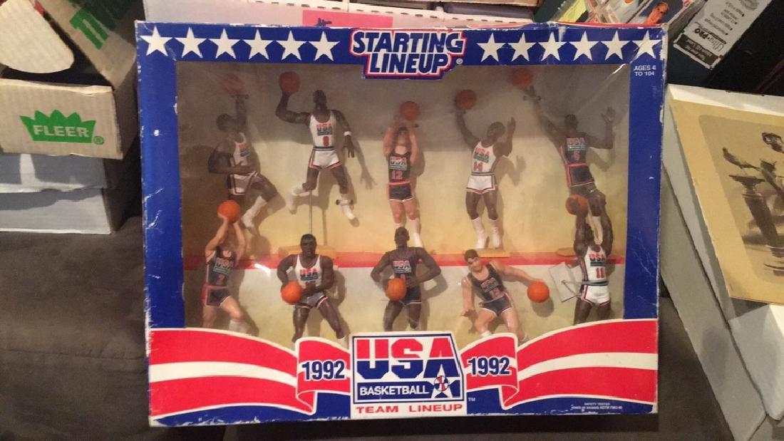 1992 team USA basketball starting lineup set 10