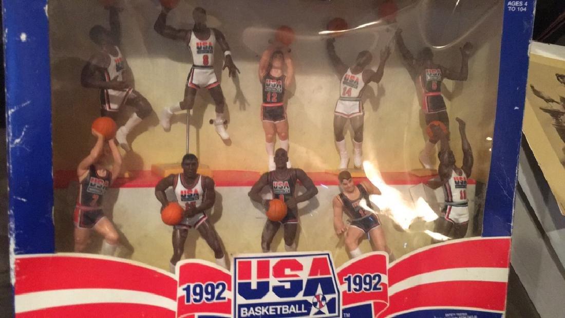 1992 team USA basketball starting lineup set 10 - 2