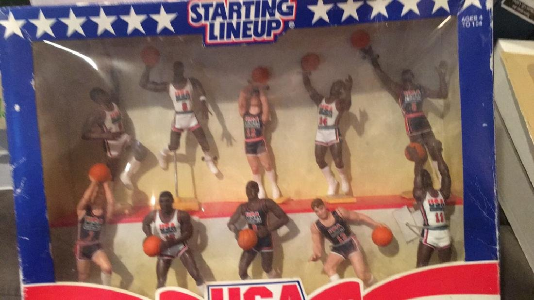 1992 team USA basketball starting lineup set 10 - 3