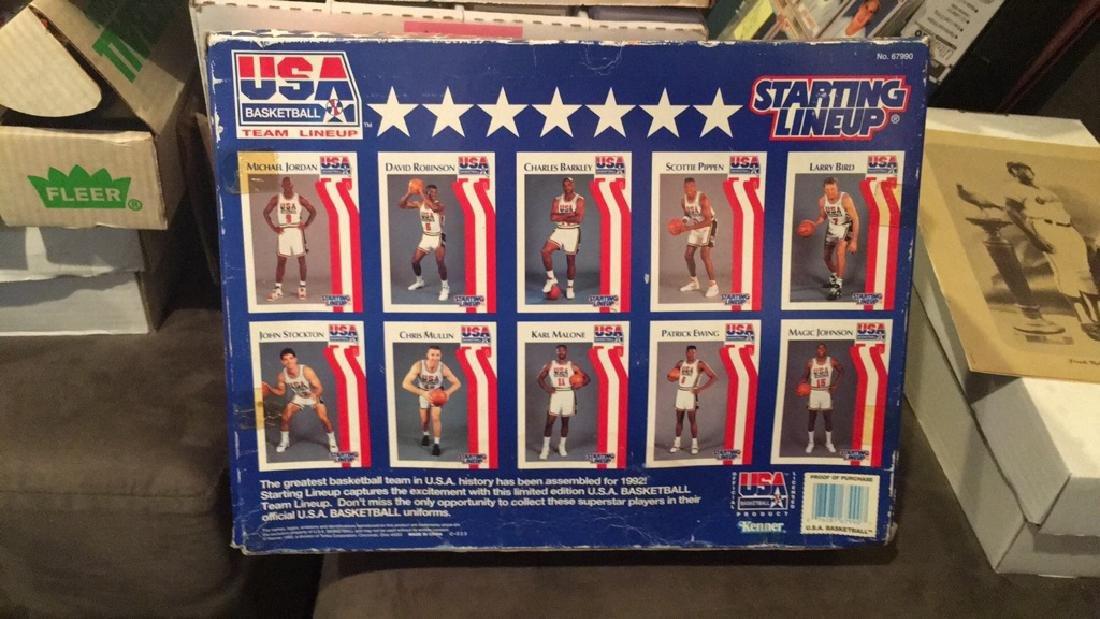 1992 team USA basketball starting lineup set 10 - 4
