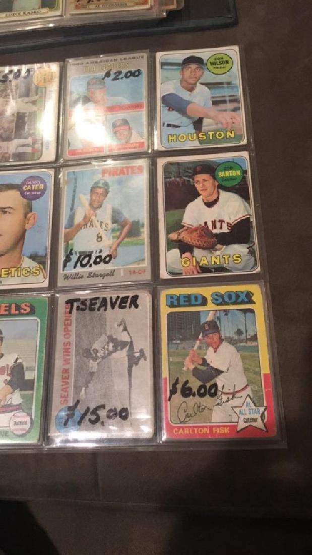 9 card vintage baseball card lot Willie Stargell - 2