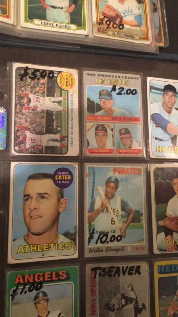 9 card vintage baseball card lot Willie Stargell - 3