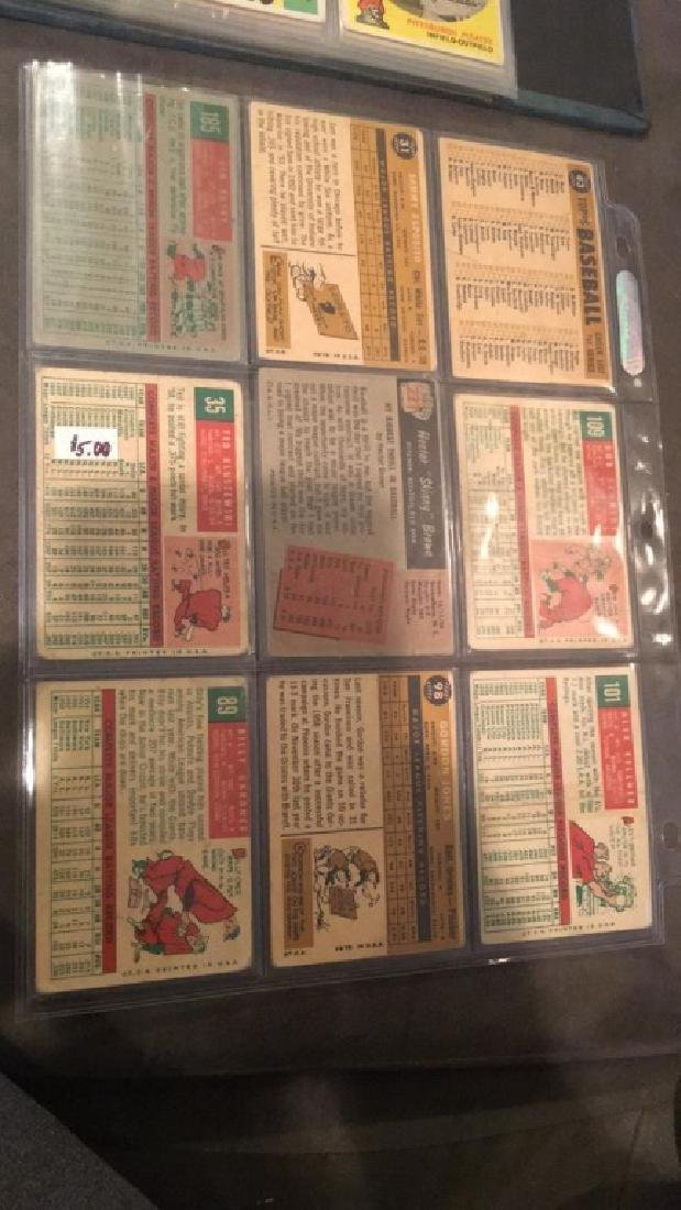 Vintage 1950s and 1960s baseball card lot - 2