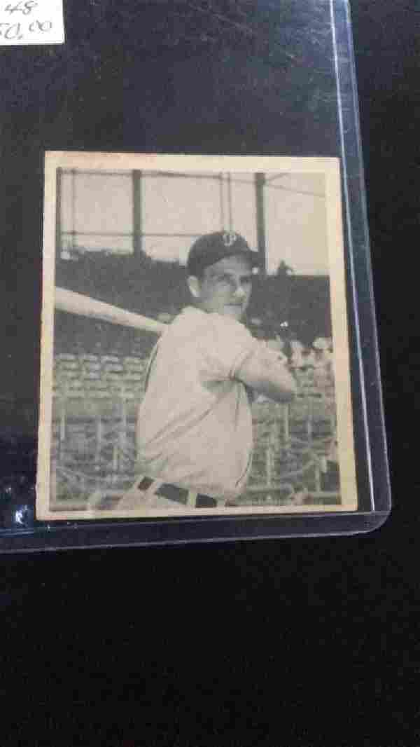 RALPH Kiner 1948 Bowman RC Nice Card look