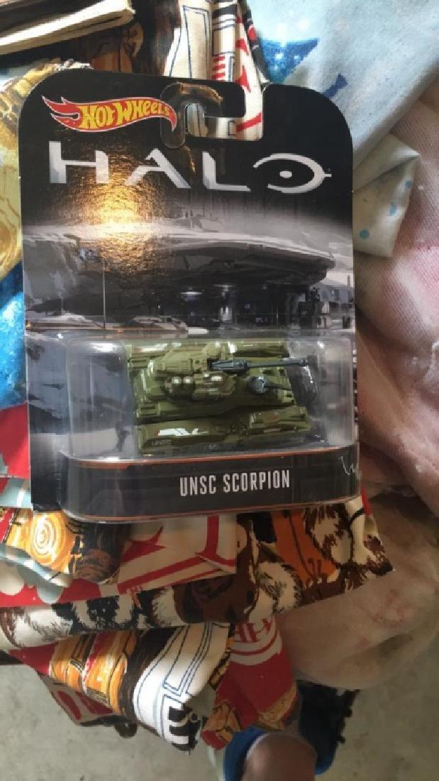 Halo hot wheels UNSC scorpion