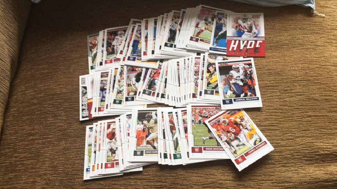 2017 score football 85 card all rookies great lot