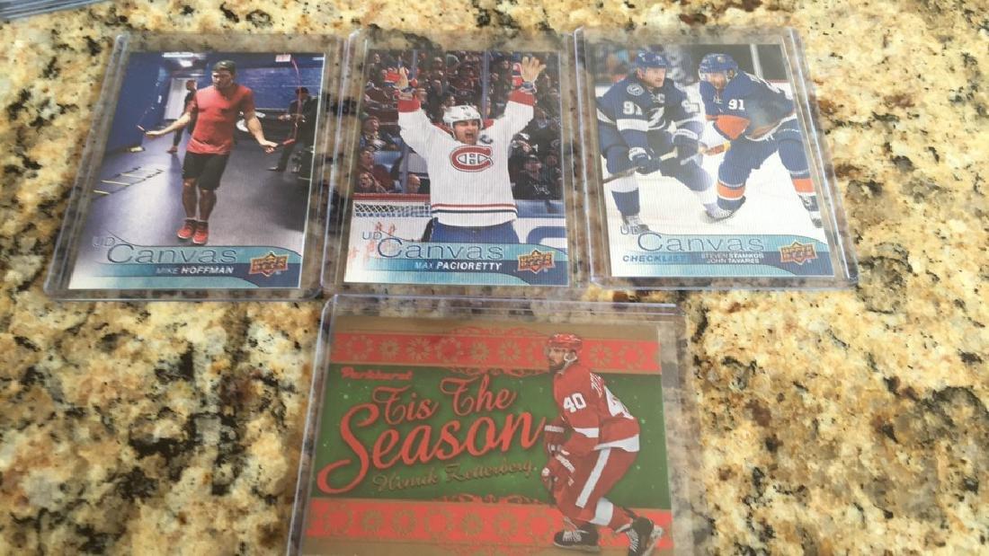Hockey card lot UD Canvas  Zetterberg