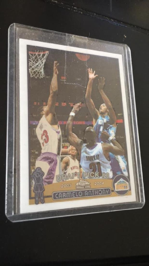 Carmelo Anthony 2003-04 Topps chrome RC