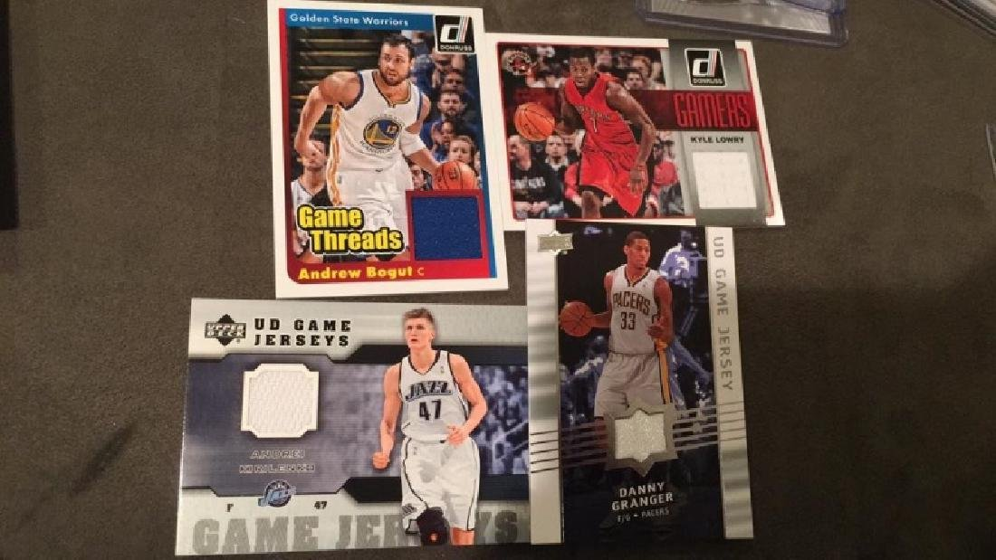 Forecourt basketball jersey lot Andrew Bogan