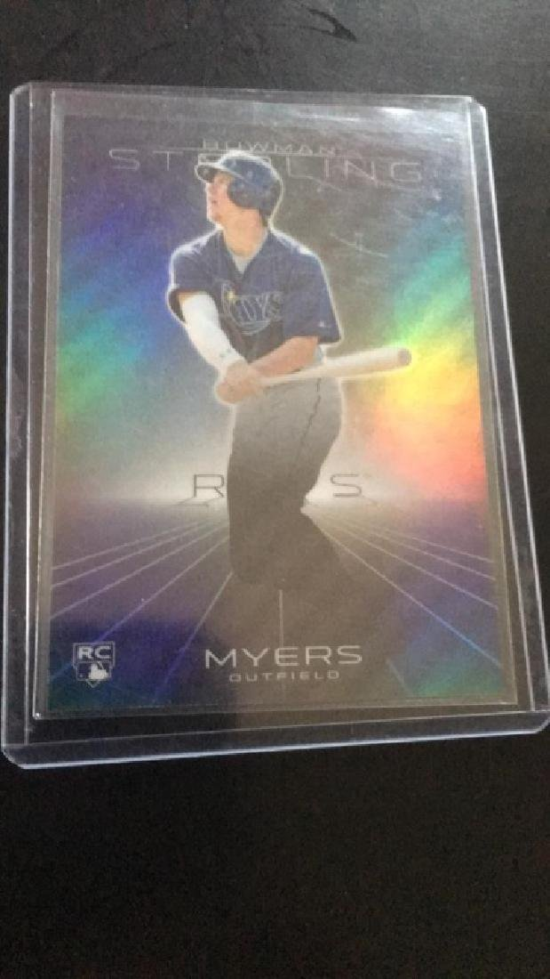 Wil Myers 2013 Bowman Sterling rookie SP/199