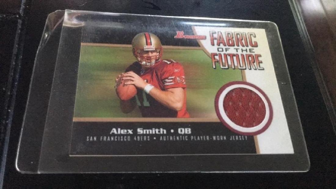 Alex Smith foam and fabric in the future rookie