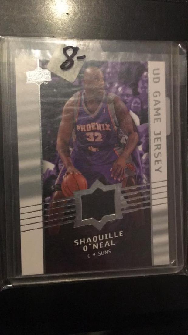 Shaquille O'Neal 2000 809 upper deck jersey card