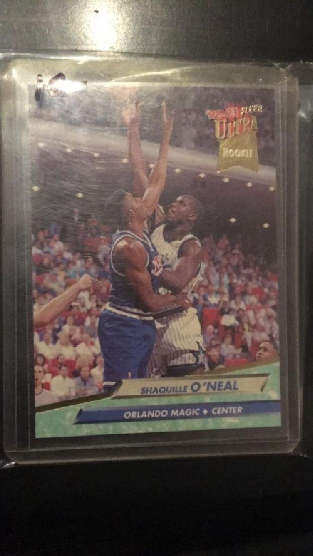 Shaquille O'Neal 19 9293 fleer ultra  rookie