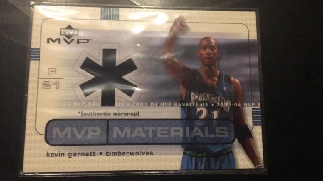 Kevin Garnett 2000 304 MVP materials jersey