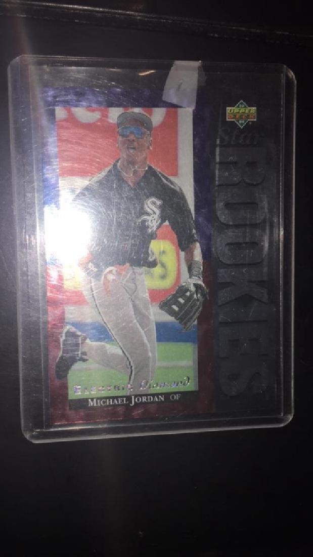 Michael Jordan 1994 upper deck star rookies