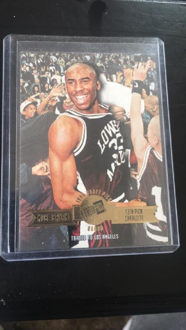 Kobe Bryant 1996 press pass rookie