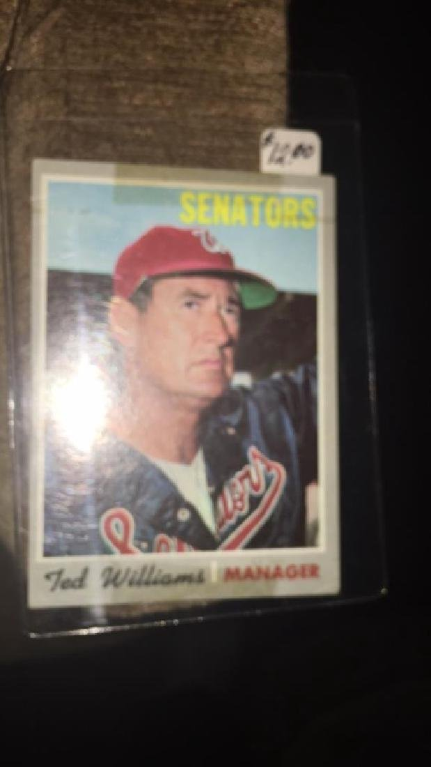 Ted Williams 1970 Topps