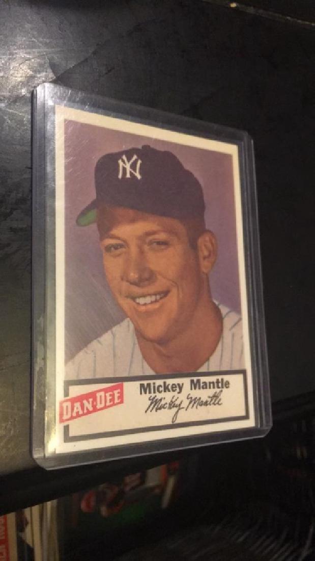 Mickey Mantle dan Dee reprint