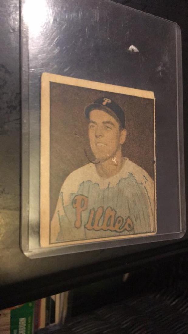 Curt Simmons 1951 Berk Ross