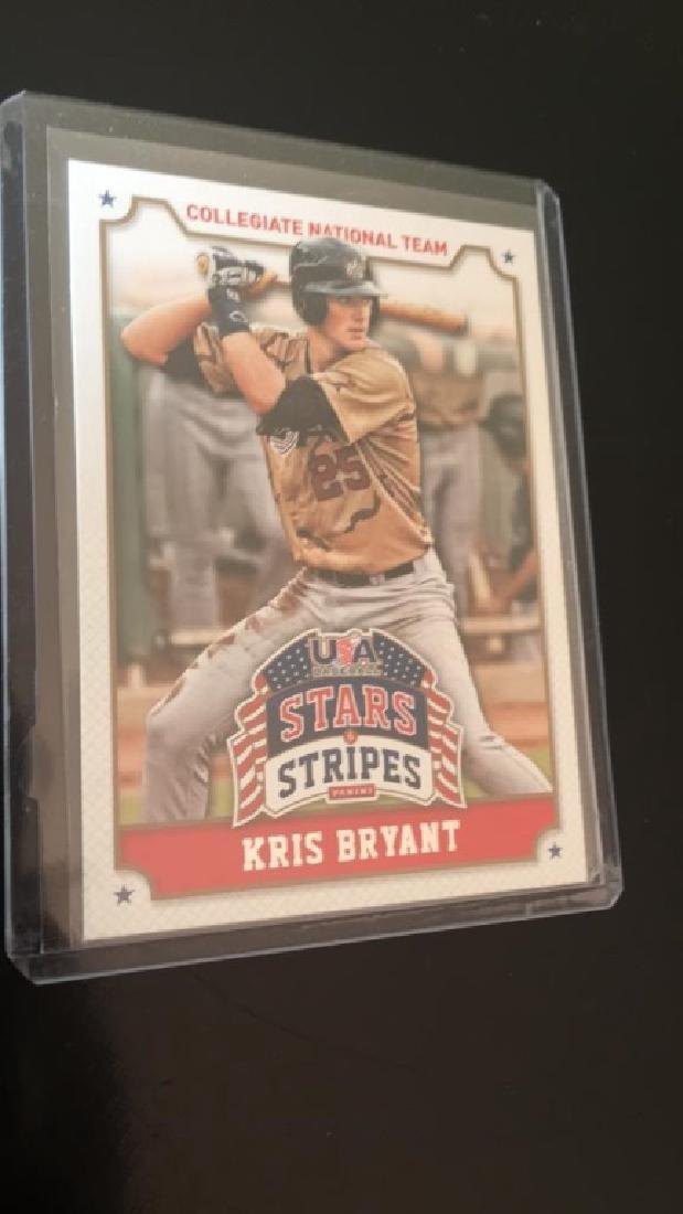 Kris Bryant 2015 USA baseball stars and stripes