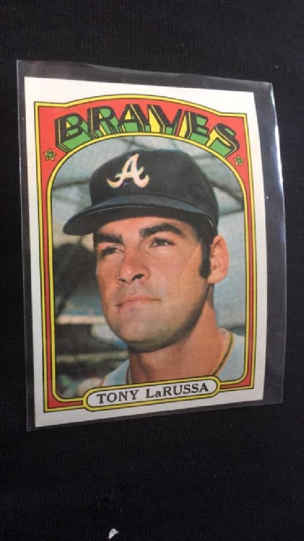 Tony Larussa 1972 Topps