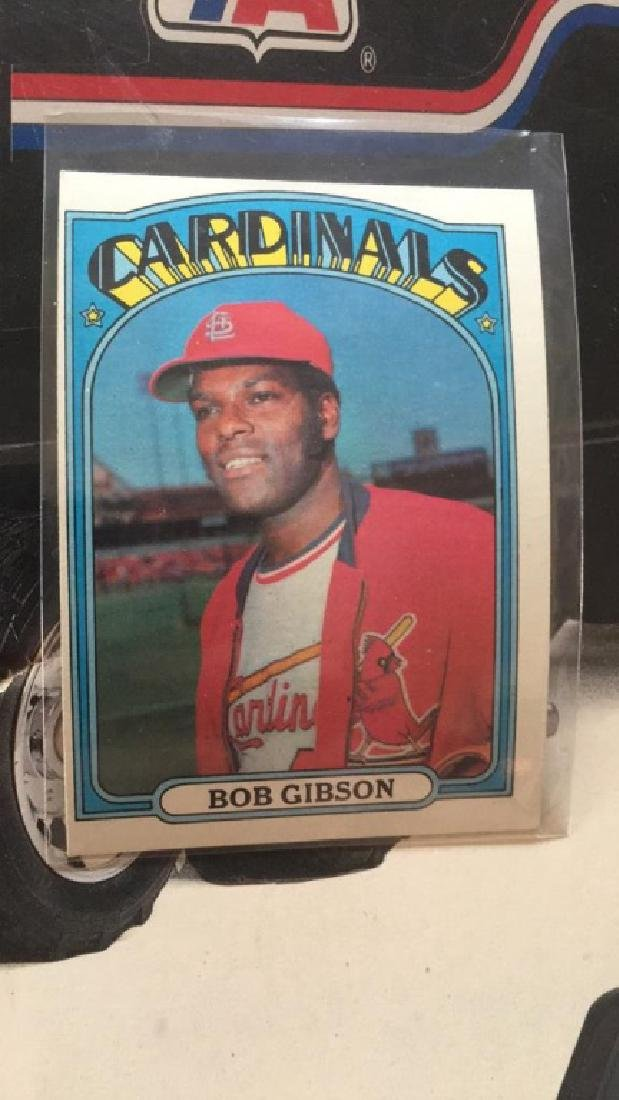 Bob Gibson 1972 tops mint condition