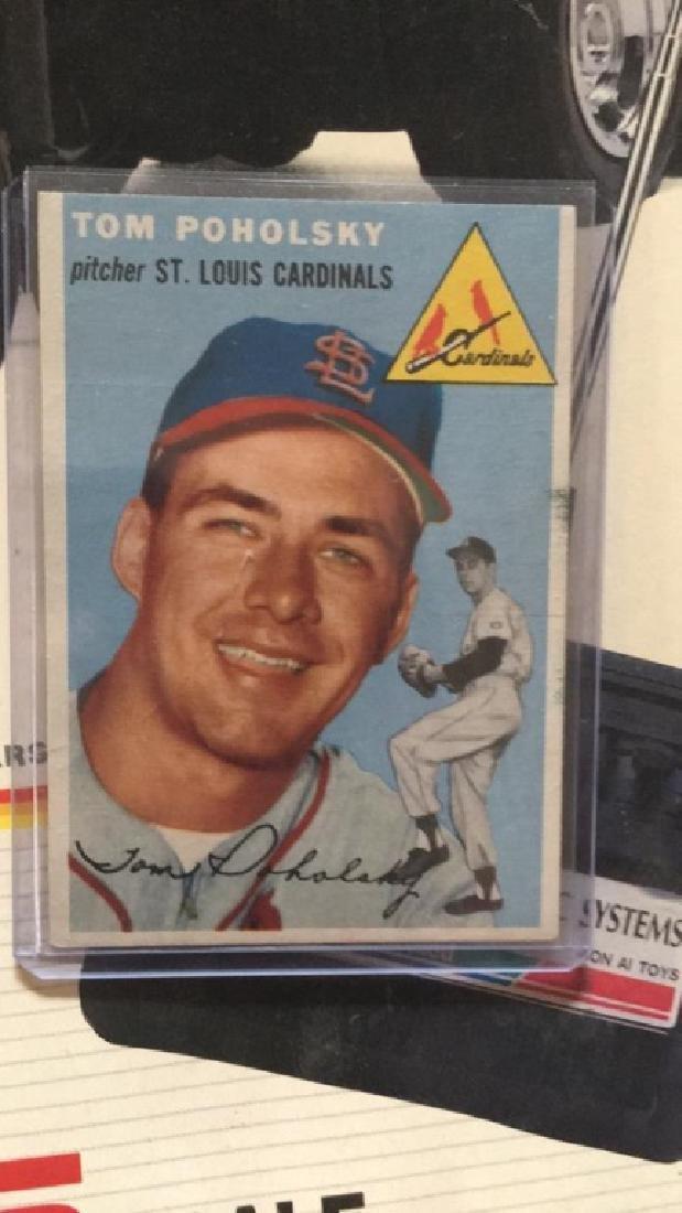 Tom Poholsky 1954 Topps vintage