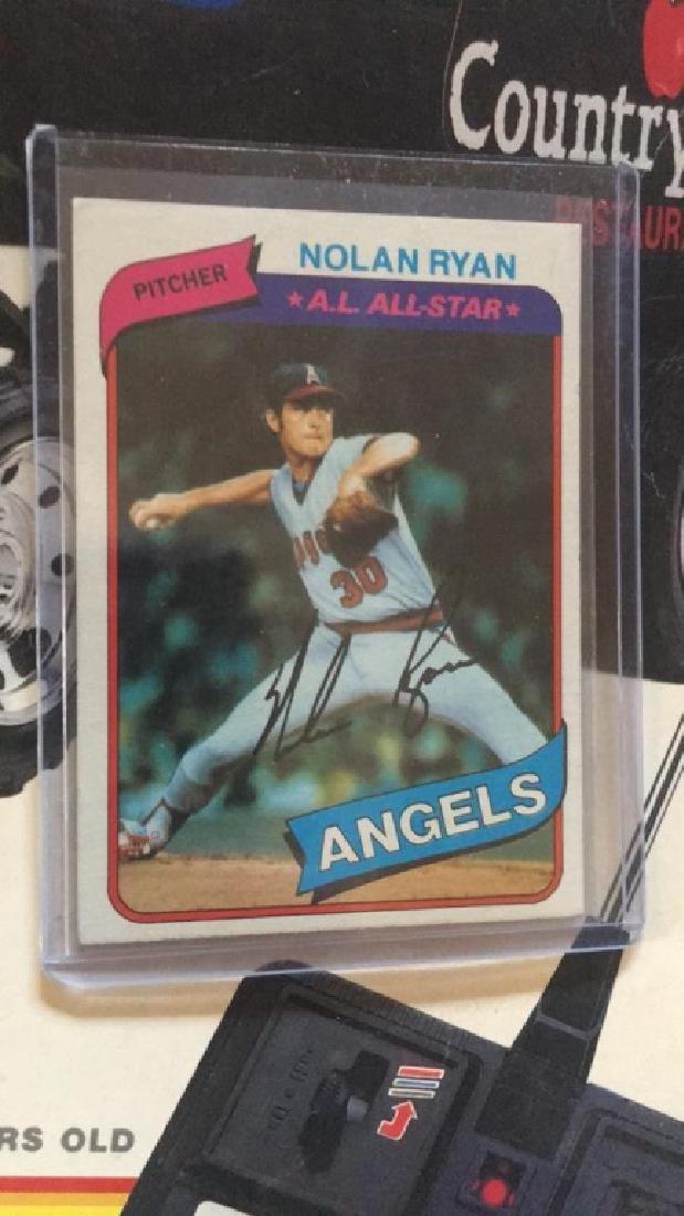 Nolan Ryan 1980 Topps  in near mint condition