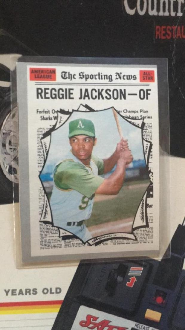 Reggie Jackson 1970 tops the sporting news nice