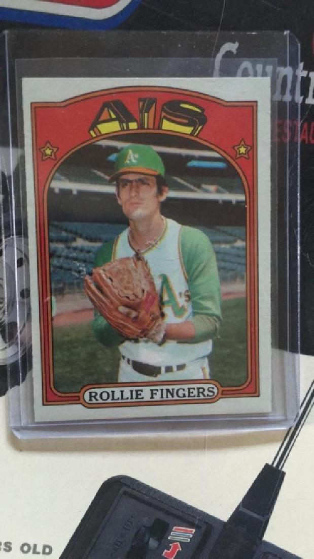 Rollie fingers 1972 tops vintage card near mint