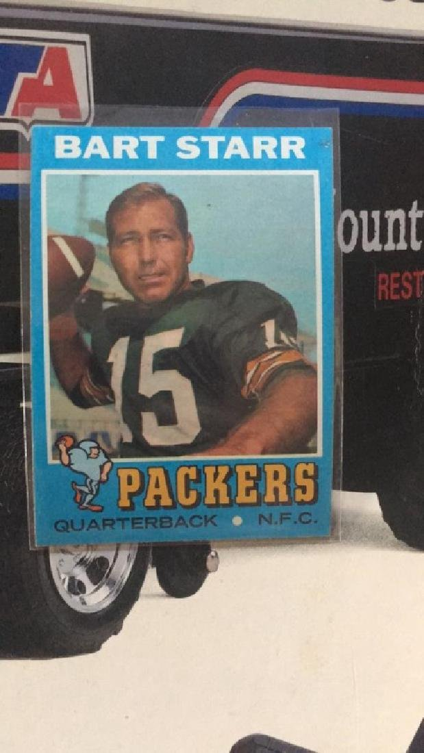 Bart Starr 1971 Topps  in near mint condition