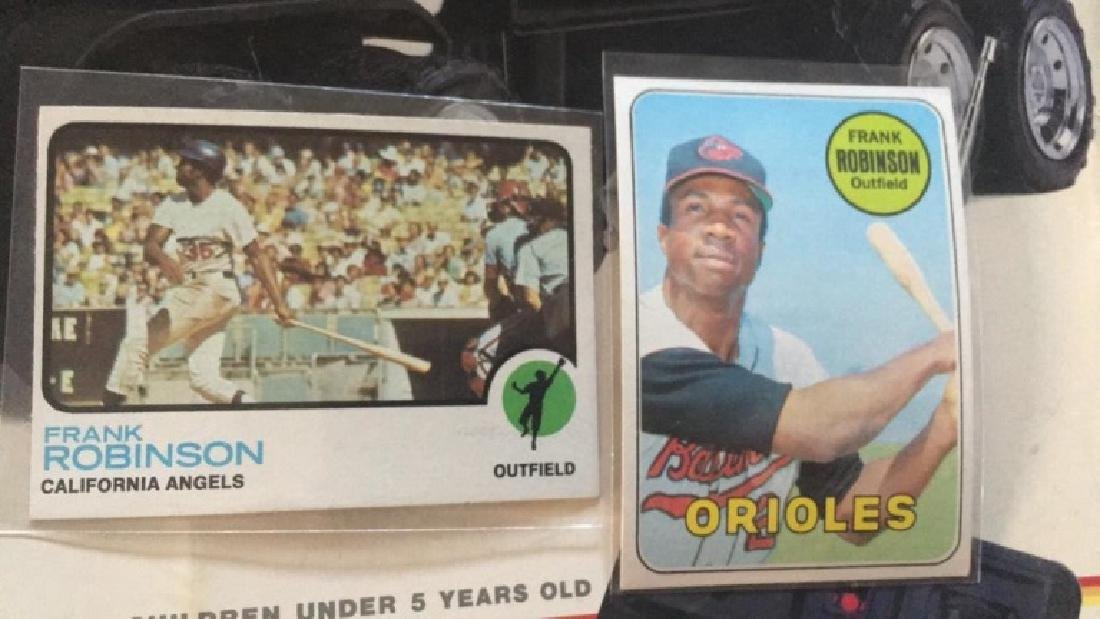 Frank Robinson 1969 tops in 1973 tubs in near