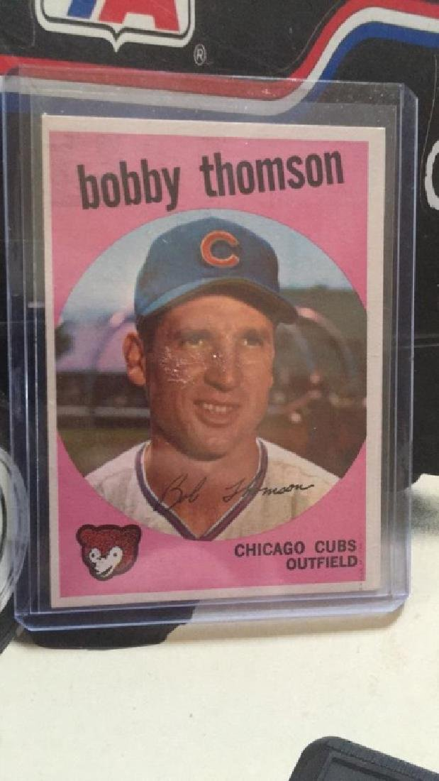 Bobby Thomson 1959 Topps in MINt condition look