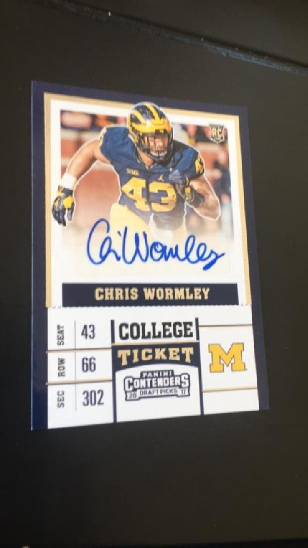 2017 Contenders Auto RC Chris Wormley