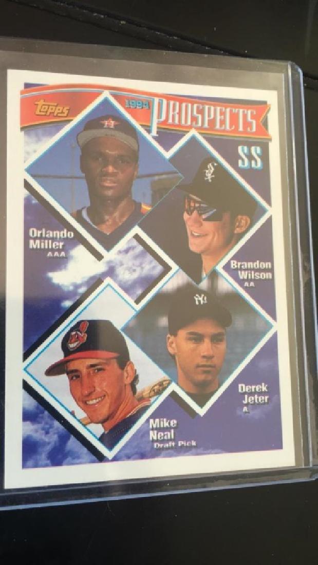 Derek Jeter 1994 Topps prospect RC