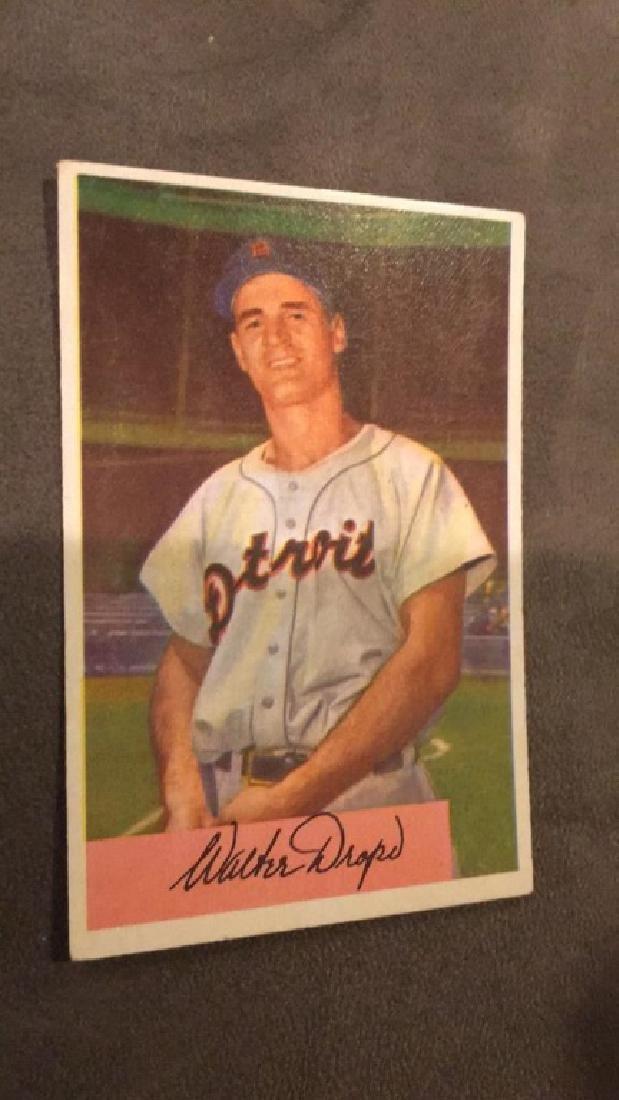 1954 Bowman Walt Dropo