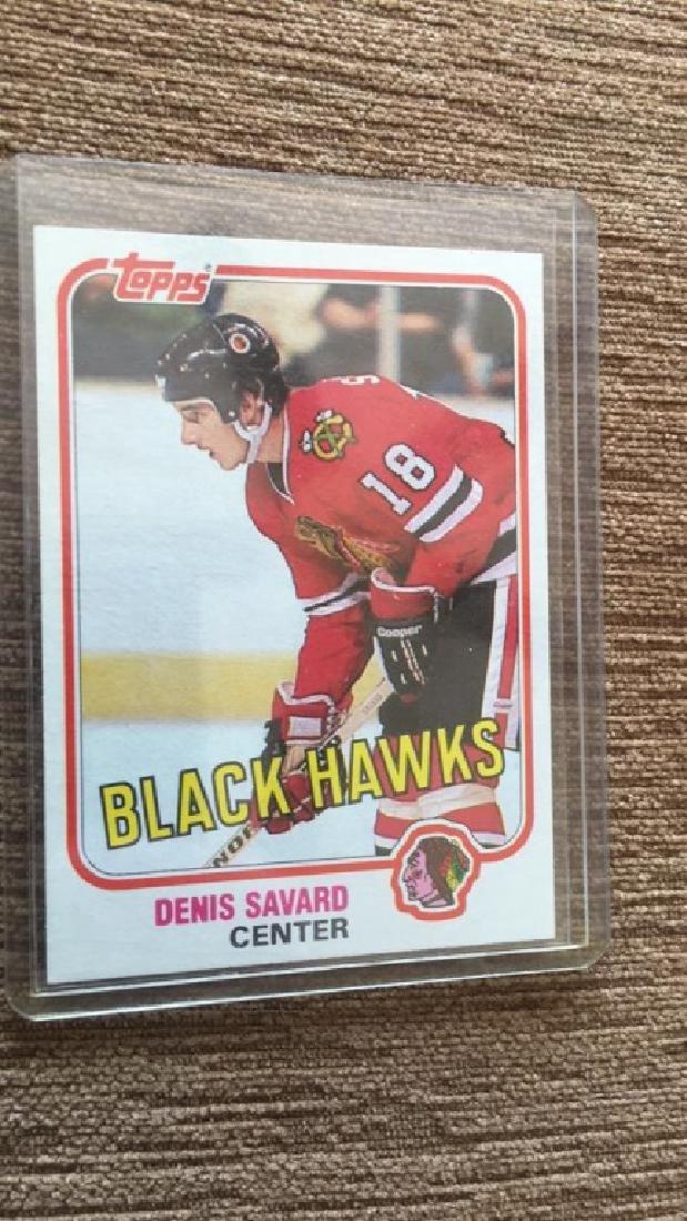 Denis Savard 1981-82 Topps RC