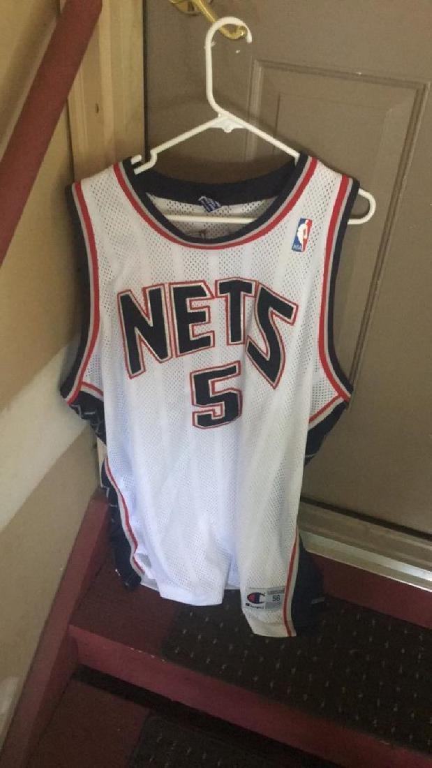 Jason Kidd New Jersey Nets authentic champion