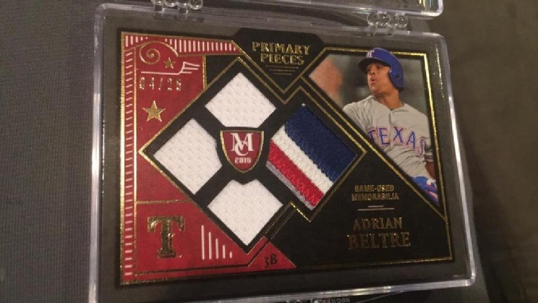 Adrian Beltre 2016 museum primary pieces quad