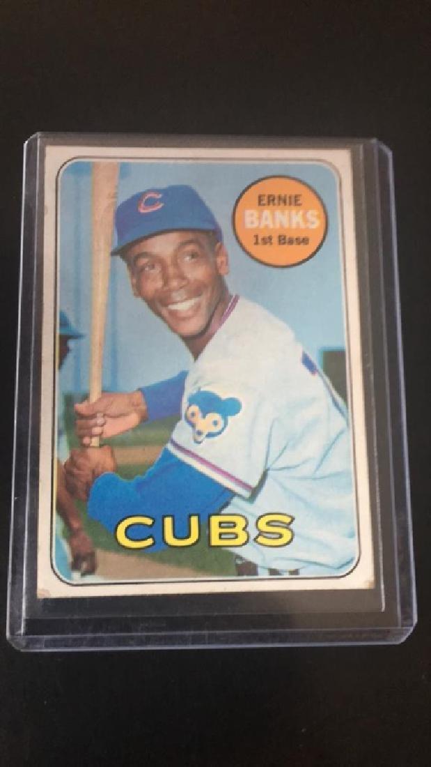 Ernie Banks 1969 Topps