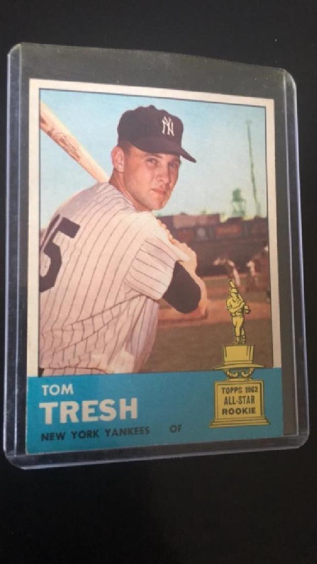 Tom Tresh 1963 Topps
