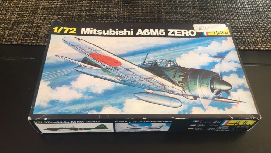Heller 1/72 Mitsubishi a6M5 zero Model