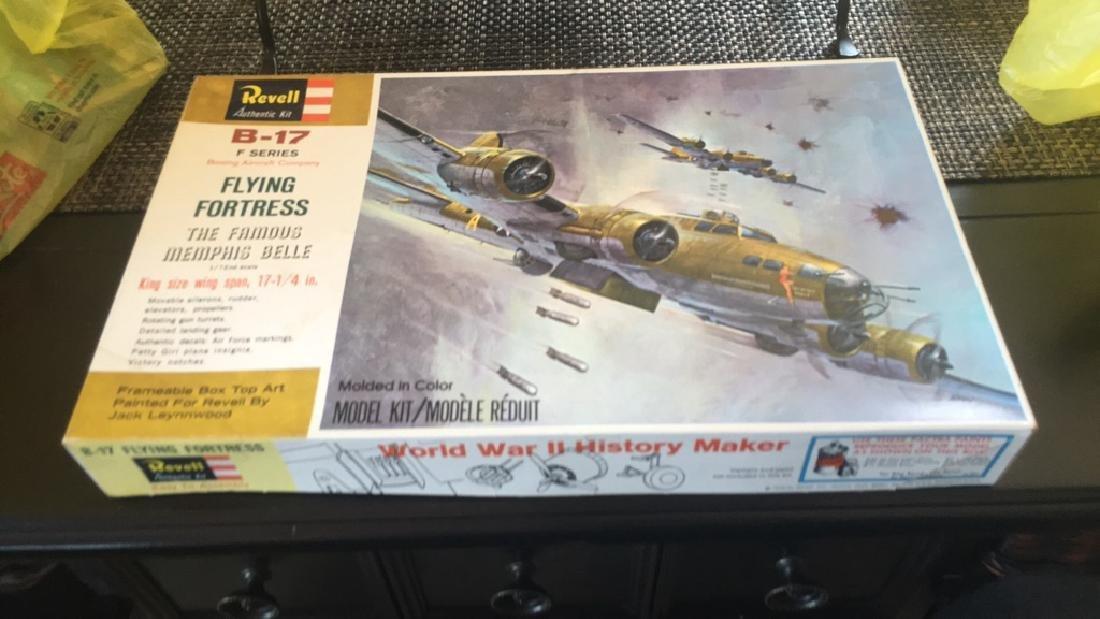 Revell B-17 F series Model plane