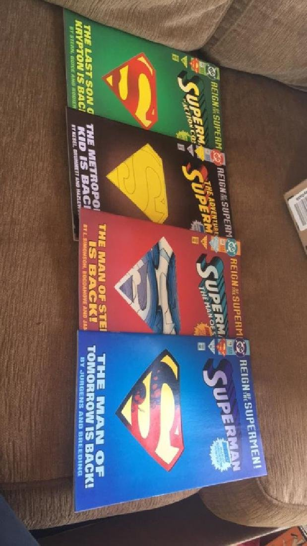 Reign of the Superman set of comic books