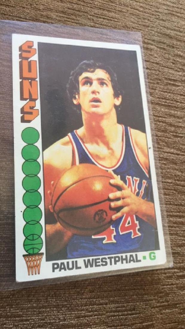 1976-77 Topps Basketball Paul Westphal